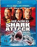 3-Headed Shark Attack 3D: Mehr Köpfe = Mehr Tote! (uncut Version) [3D Blu-ray]