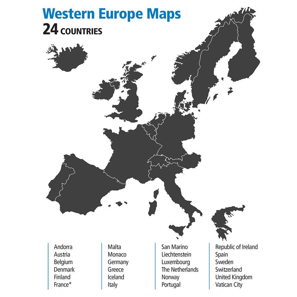 Garmin Nuvi 2548LMT D 5 UK Western Europe Lifetime Maps D