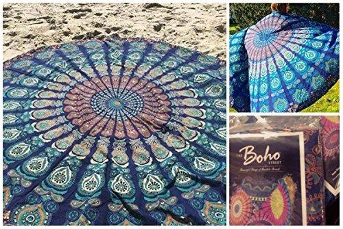 the-boho-street-branded-cotton-mandala-roundiesbeach-throw-indian-mandala-tapestry-yoga-mat-picnic-m