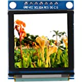 Akozon 1.5inch OLED-Anzeigemodul DIY Anzeigen-Modul, OLED-Farben-Anzeigen-Modul 128 * 128 SSD135 I2C IIC SPI Seriell Peripherie-Schnittstelle für Arduino