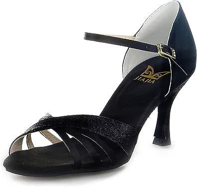 JIA JIA 20521 - Sandali da donna con tacchi super satin latino