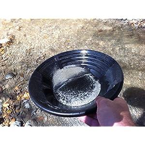 Estwing Pan Plastique noir 25cm Orpaillage Chercheur d `Or
