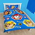 Paw Patrol Childrens/Kids Official Rescue Reversible Single Duvet Set - low-cost UK light store.