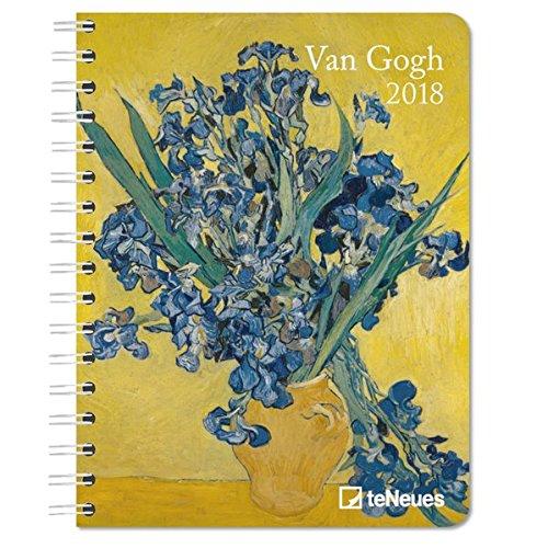 2018 Van Gogh Deluxe Diary- teNeues - 16.5 x 21.6 cm thumbnail