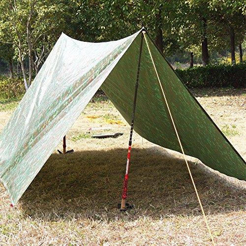 Wingchun Kungfu 3m * 3m Strand Ultralight Mat Strand Zelt Pergola Markise Baldachin Tarp Camping...