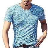 Männer Sommer Weich Komfortable Modal Baumwolle Färben T shirt Lässig kurze ärmel T - shirt slim fit Crew Hals unterhemd