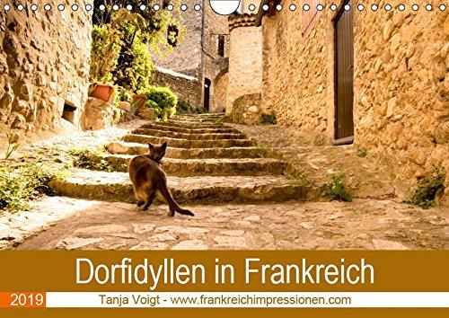 Dorfidyllen in Frankreich (Wandkalender 2019 DIN A4 quer): Mittelalterliche Gassen, Fachwerk und blumengeschmückte Häuser in wunderschöner Umgebung - ... (Monatskalender, 14 Seiten ) (CALVENDO Orte) - Haut-gasse