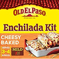 Old El Paso Mexican Cheesy Baked Enchilada Dinner Kit, 663g