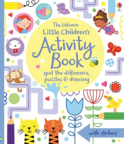 Little Children's Activity Book Cover Image