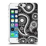 Head Case Designs Schwarz Paisley Muster Serie 2 Ruckseite Hülle für iPhone 5 iPhone 5s iPhone SE
