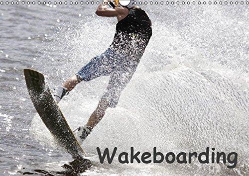 Wakeboarding / CH-Version (Wandkalender 2019 DIN A3 quer): Profisportler beim Wakeboarden: Ein schneller und spektakulärer Wassersport. (Monatskalender, 14 Seiten ) (CALVENDO Sport)