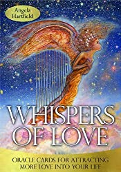 Whispers of Love Oracle Cards by Angela Hartfield (2013-08-20)