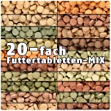 AQUALITY PREMIUM Futter-Tabletten MIX '20 Sorten' 1.000 ml