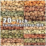 AQUALITY PREMIUM Futtertabletten-MIX '20 Sorten' 1.000 ml