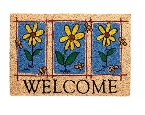 Betz Kokosmatte Fußmatte Fußabstreifer Schmutzfangmatte Welcome Größe 40x60cm