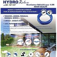 Brumisateur de terrasse 6,50 mètres - 6 buses - filtre anticalcaire