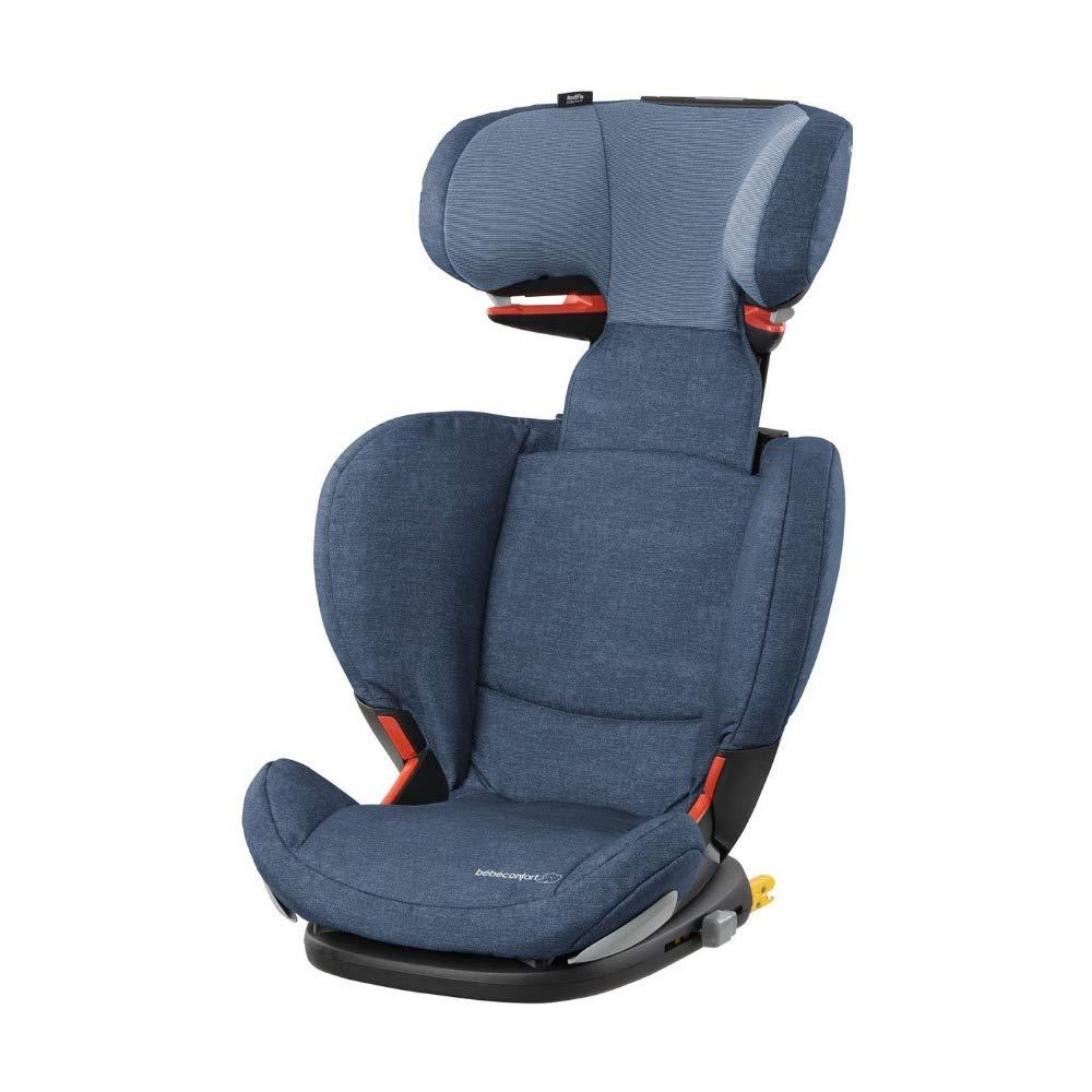 Bébé Confort RODIFIX AirProtect 'Nomad Blue' – Silla de auto para niño con ISOFIX, R44/04, reclinable, segura y ligera, desde los 3,5 hasta los 12 años, 15-36 kg,gr.2/3, color azul