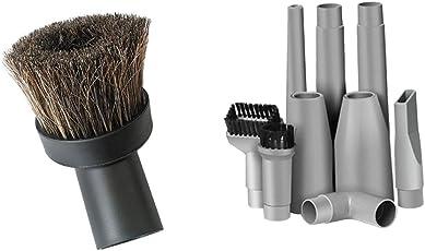 Segolike 10-Piece/Set Compatible Vacuum Attachment Accessories Parts Set Vacuum Brushes /Power Nozzle /Connector/Extension Wand
