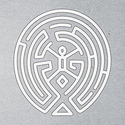 Westworld Maze White Men's Vest Heather Grey
