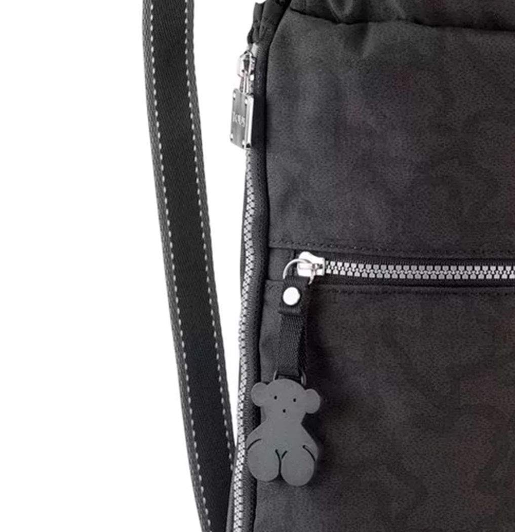 61JaGGruuxL - Tous Mochila Kaos New Colores en color antracita-negro