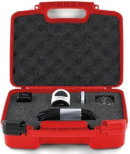 Life Made Better Lagerung-Organisator - Kompatibel Mit Mevo-Kamera Live-Event Und Zubehör - Rot