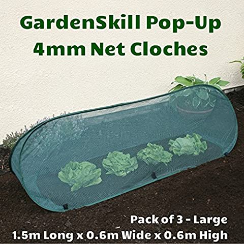 Pack of 3 – Large - 1.5m x 0.6m x