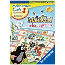"Ravensburger 22167 7 ""The Mole Is Looking Closely"" Game"