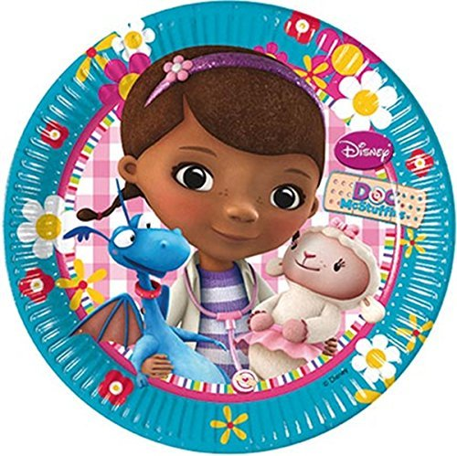 Doc McStuffins Papier Party Lunch Teller X 8