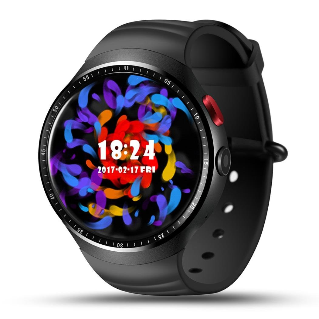 Men's Fitness Tracker Smart Watch for Android IOS Vneirw Generic LES13G SIM/16GB GPS WIFI Sport Watch Smart Watch with Heart Rate Monitor/Pedometer/Bluetooth