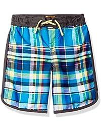 Tommy Bahama Boys' Plaid Swim Short