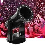 AILZNN DMX Confetti Machine, Lanciatore di Cannoni Telecomandato della Macchina del Cannone dei Coriandoli di Evento di Dj per Effetto della Fase di Natale di Halloween di Feste di Matrimoni