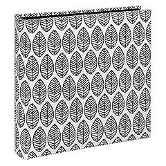 Idea Regalo - Hama Fleur White photo album - photo albums (300 mm, 300 mm, White, 100 sheets, 10 x 15, 400 sheets)
