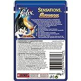 Felix Sensations Soßen Sause Katzenfutter Rind mit Tomate, 20er Pack (20 x 100 g) Beutel - 2