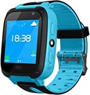 Kids GPS Tracker Watch,LAYOPO Waterproof Kids Smart Watch With 1.44 Inch Touch Screen/Call/GPS/Activity Tracking/Game/HD Cam