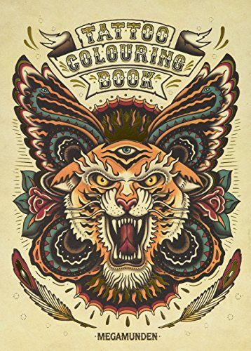 Tattoo colouring book. Ediz. illustrata