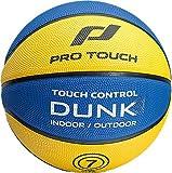 Pro Touch Dunk Basketball, Black/Green, 5