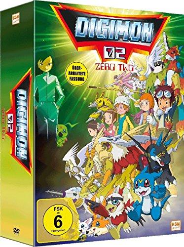 Digimon Adventure 02 im Sammelschuber - New Edition -  (Volume 1: Episode 01-17) [3 DVDs]