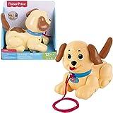 Fisher-Price Petit Snoopy, jouet chien à tirer bébé pour encourager l'enfant à marcher, 12 mois et plus, H9447