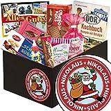 Nikolaus | Süssigkeiten Geschenkbox | DDR Geschenkkorb | Nikolaus Geschenk für oma