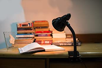 Study Table Clip Lamp for Office Use/Desk Lamp/Reading / Working Lamp by Deepak