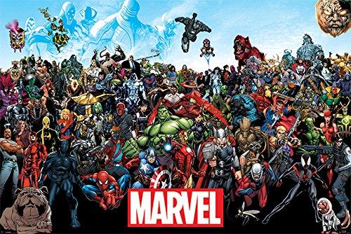 Marvel Universe –Póster (tamaño Grande)