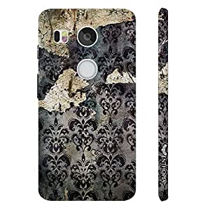 Google Nexus 5X OLD GRUNGE WALL designer mobile hard shell case by Enthopia