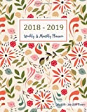 #8: July 2018 - June 2019 Planner: Two Year - 12 Months Daily Weekly Monthly Calendar Planner for Academic Agenda Schedule Organizer Logbook and Journal 2 (Academic Planner 2018-2019 8.5 x 11)
