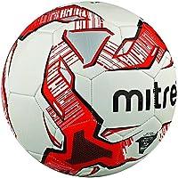 Mitre Trainingsfußball Impel - Balón de fútbol, color blanco (weiß/rot/schwarz), talla 5
