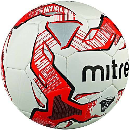 Mitre Trainingsfußball Impel - Balónes de fútbol, color blanco (wei