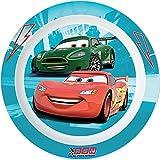 Fun House 005050 Cars Assiette Micro-ondable pour Enfant Polypropylène Rose 22 x 22 x 1 cm