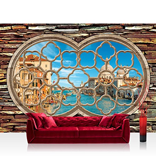 non-woven-photo-wallpaper-wall-mural-photo-wallpaper-venice-window-premium-plus-water-city-venice-go