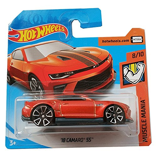 Hot Wheels 18 Camaro SS - Muscle Mania - 2018 50/365
