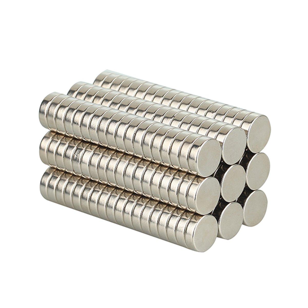 barre Esperimenti Scientifici Uffici Aodoor Magneti forte magnete di terre rare per Frigoriferi Magneti al neodimio 5 x 5 x 5 mm 100 pezzi