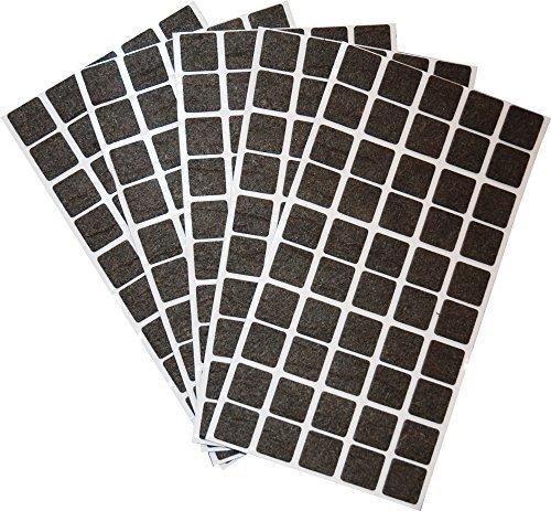 250-Filzgleiter-20x20-mm-quadratisch-braun-selbstklebend-Mbelgleiter-in-Top-Qualitt-35-mm-von-Adsamm